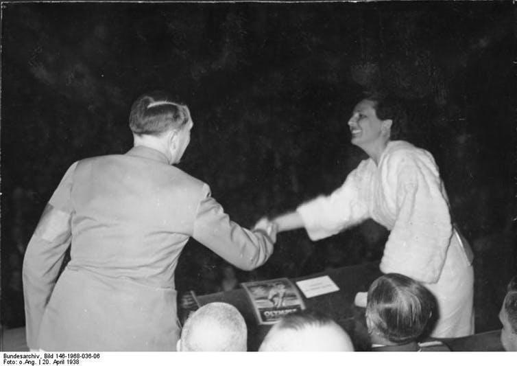 Hitler and Leni Riefenstahl