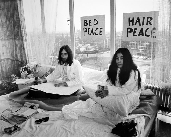 Bed-Ins for Peace 1969
