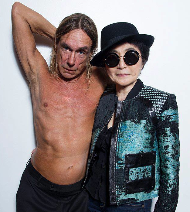 ONO Yoko & Iggy Pop