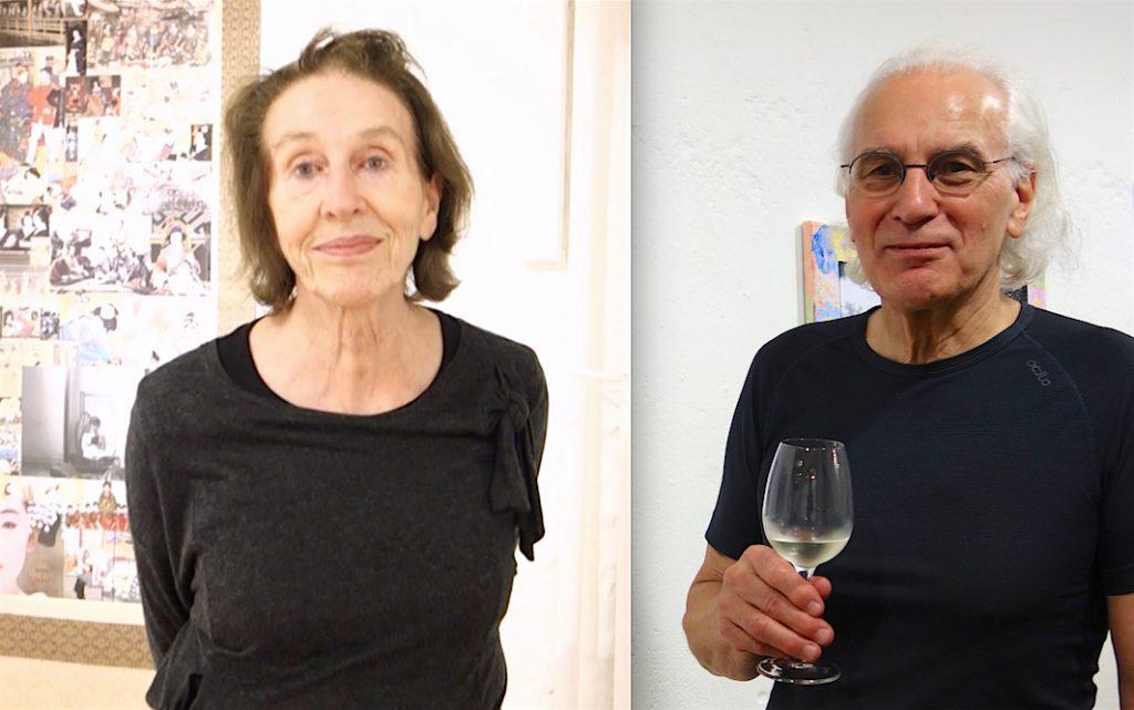 ギリとディエゴ・スタンパ氏夫妻 @ ネオ・ジャポニスム展、バーゼル 2019年