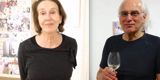 素敵なギリとディエゴ・スタンパ氏夫妻 @ ネオ・ジャポニスム展・バーゼル