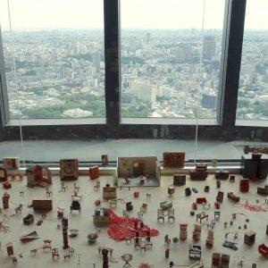 塩田千春展 「魂がふるえる」@ 森美術館、総入館者数が66万6千人を記録