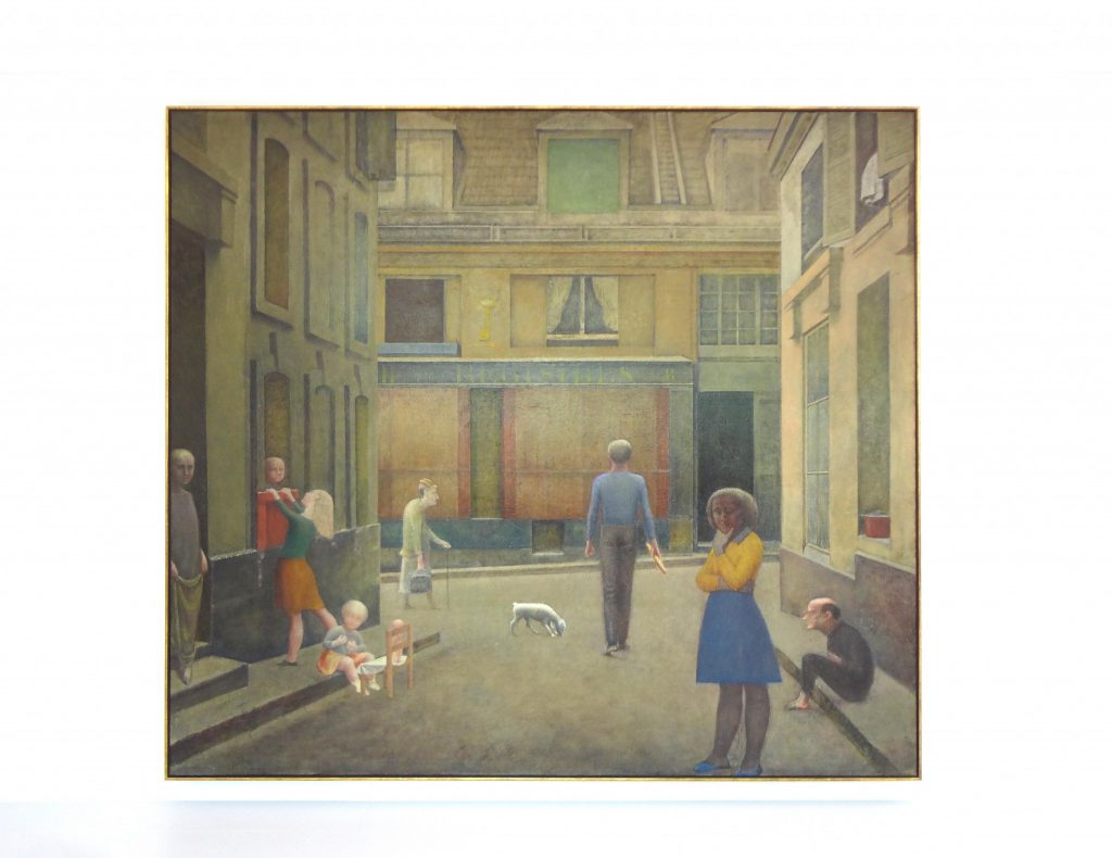 "Balthus ""Passage du Commerce-Saint-André"" 1952-1954 (slightly lightened up)"