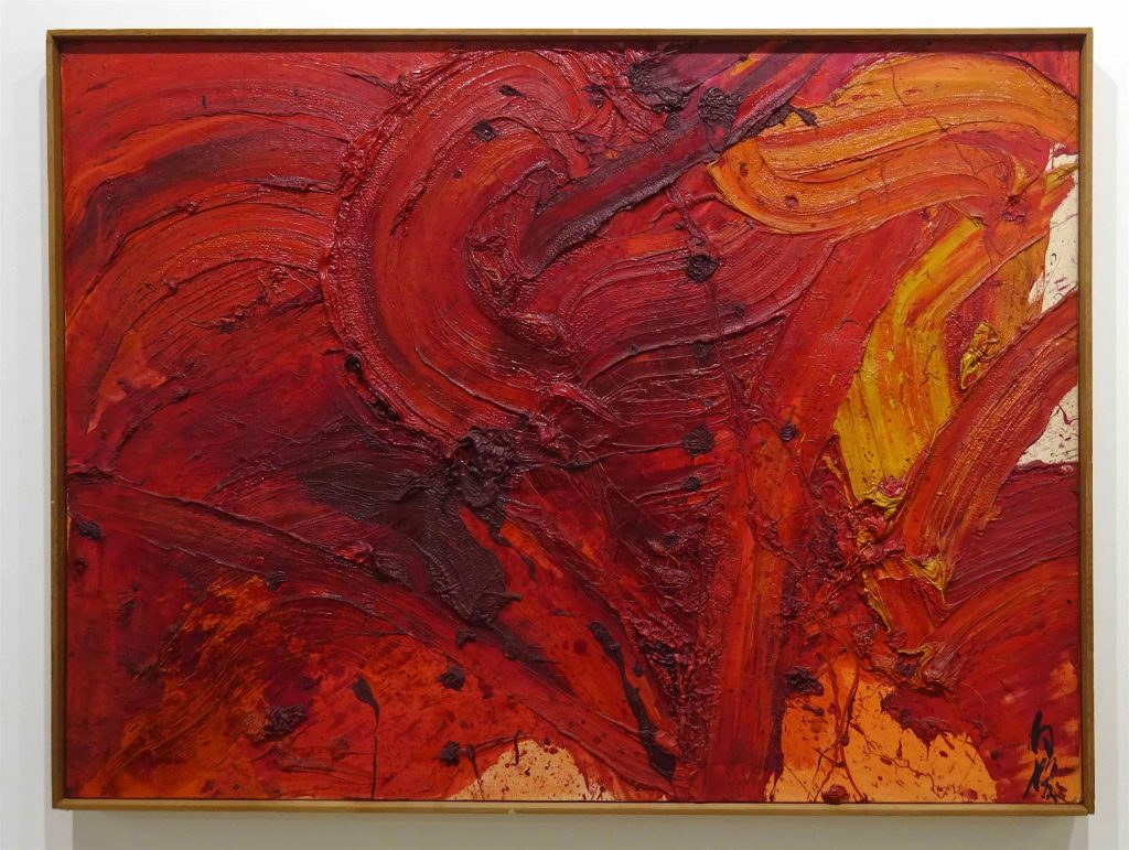 "白髪一雄 SHIRAGA Kazuo ""Untitled"" 1964"