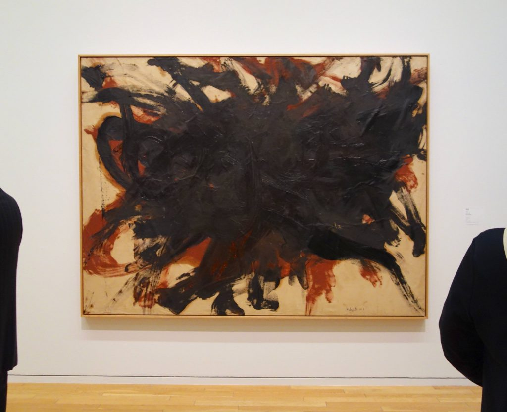 白髪 一雄 SHIRAGA Kazuo 無題 Untitled 1957 Oil on paper