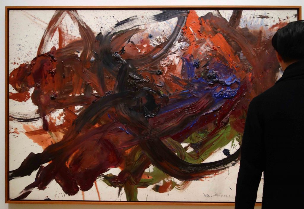 白髪 一雄 SHIRAGA Kazuo 無題 Untitled 1959 Oil on canvas