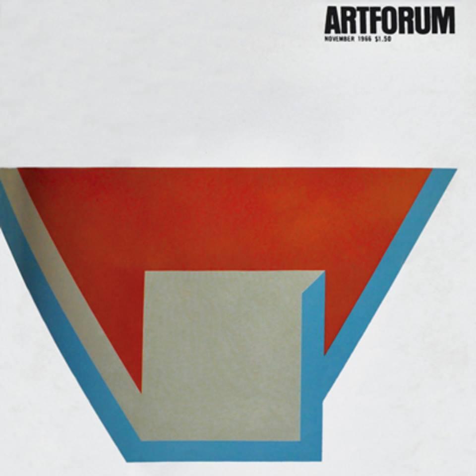 ARTFORUM, November 1966, featuring Frank Stella 'Union III'