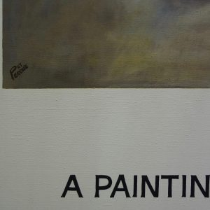 B like Baldessari, The Painter