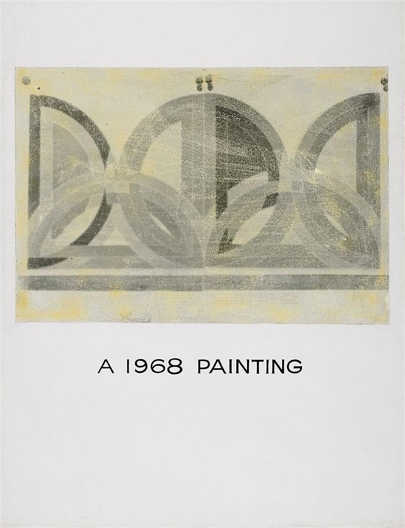 John Baldessari 'A 1968 PAINTING'