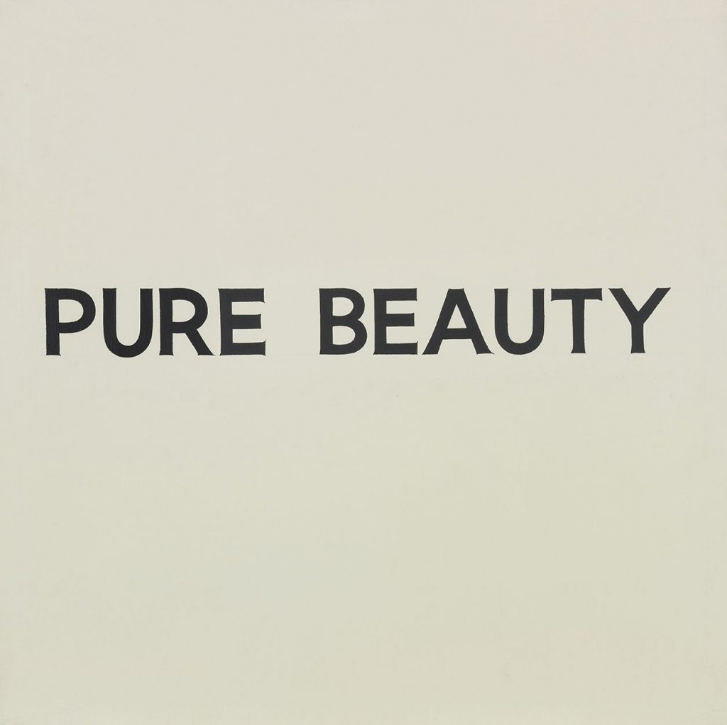 John Baldessari 'PURE BEAUTY'