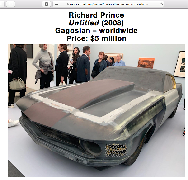 Richard Prince @ Frieze LA 2020