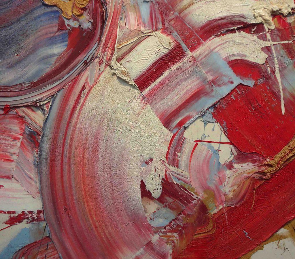 "SHIRAGA Kazuo 白髪一雄 「梁山泊」""Liang-shan-po"" 1967 (Yokohama Museum of Art Collection 横浜美術館蔵) 部分"