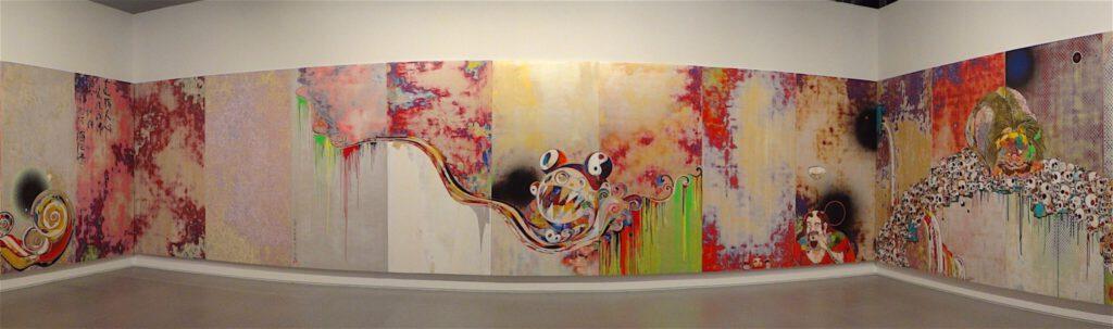 """村上隆 MURAKAMI Takashi """"727-272 The Emergence of God At The Reversal of Fate"""" 2006-2009 @ Pinault Collection 'Art Lovers', Monaco 2014"""