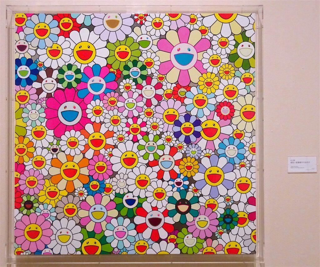 """村上隆 MURAKAMI Takashi """"Maiden In The Yellow Straw Hat"""" 2010 @ """"Contemporary Art of The 21st Century – Exhibition of Taguchi Art Collection"""", The Hiratsuka Museum of Art 2018"""