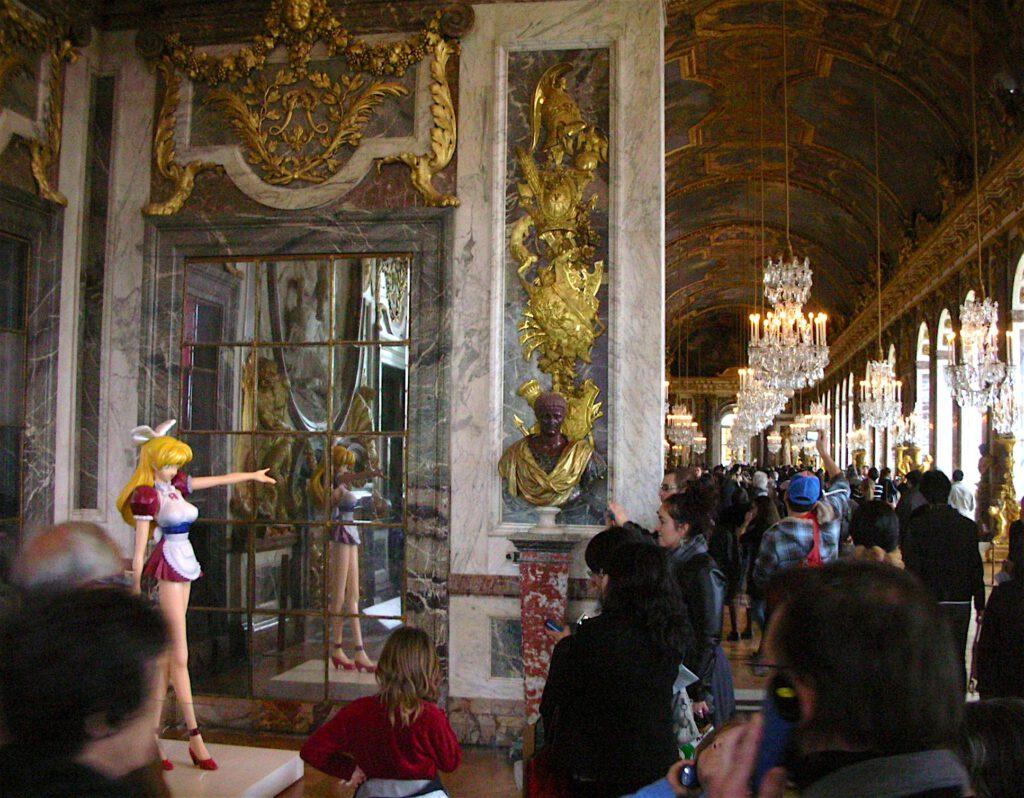村上隆 MURAKAMI Takashi MISS KO2 ORIGINAL (PROJECT KO2) 1997 @ Chateau de Versailles ヴェルサイユ宮殿 2010