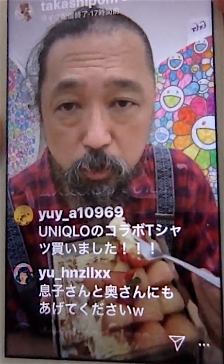 村上隆 MURAKAMI Takashi on Instagram 2020-5-7