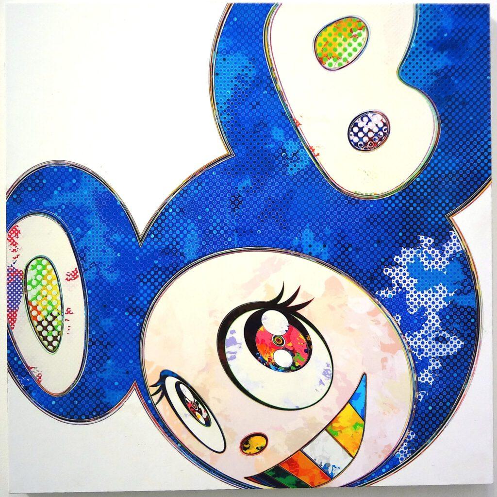 """村上隆 MURAKAMI Takashi DOB for SCAI THE BATHHOUSE """"Making Links 25 years"""" January 2014"""