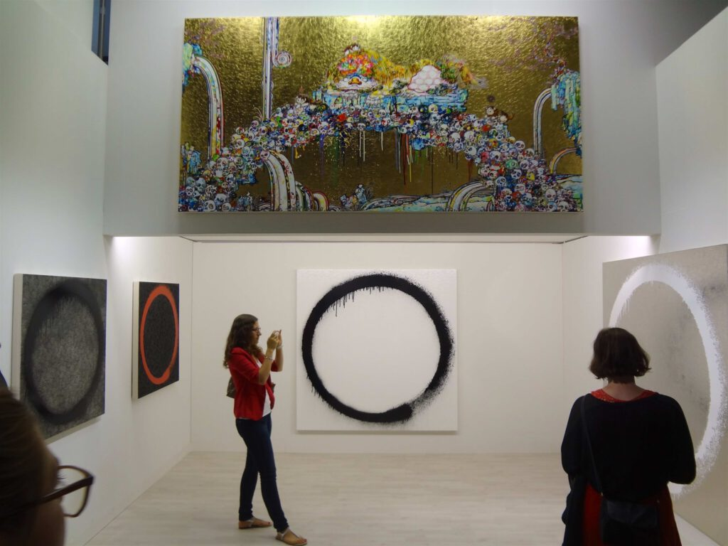 Art Basel 2015 Perrotin booth