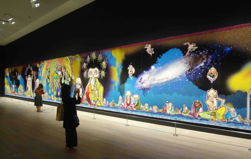 MURAKAMI Takashi 村上隆の五百羅漢図展 The 500 Arhats @ 森美術館 Mori Art Museum 2015 (10)