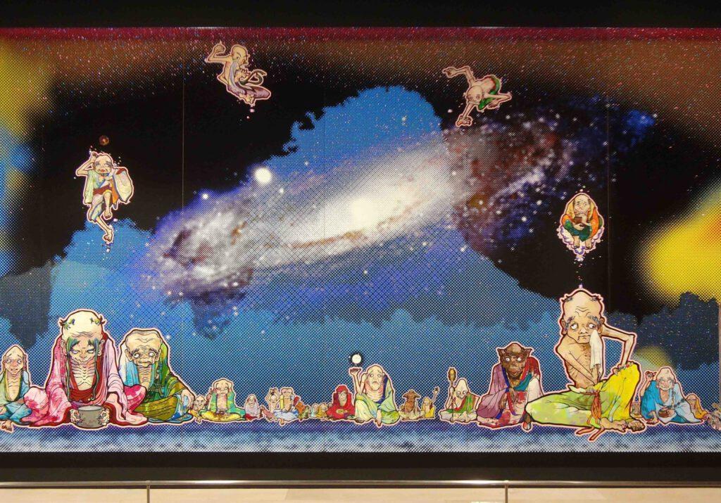 MURAKAMI Takashi 村上隆の五百羅漢図展 The 500 Arhats @ 森美術館 Mori Art Museum 2015 (11)