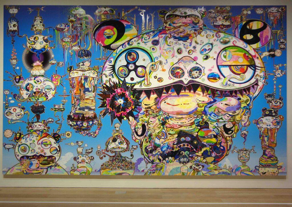 MURAKAMI Takashi 村上隆の五百羅漢図展 The 500 Arhats @ 森美術館 Mori Art Museum 2015 (13)