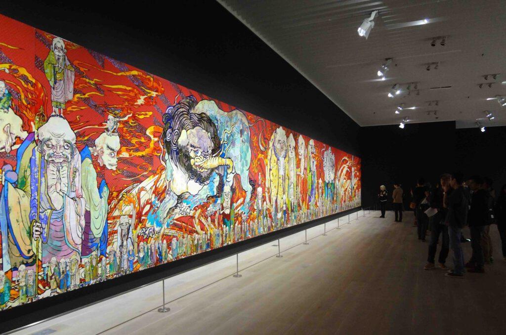 MURAKAMI Takashi 村上隆の五百羅漢図展 The 500 Arhats @ 森美術館 Mori Art Museum 2015 (9)