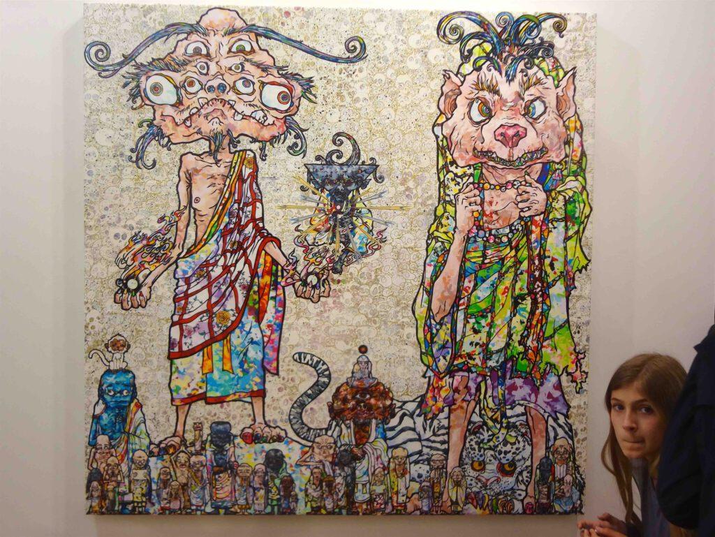 MURAKAMI Takashi's work @ Art Basel 2016