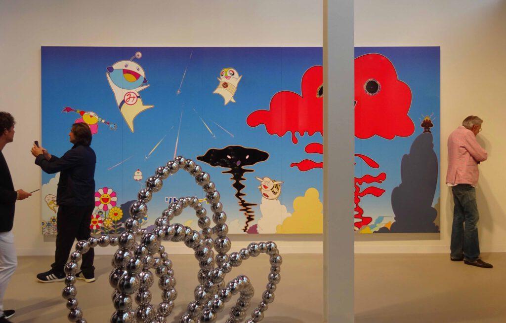 MURAKAMI Takashi's work @ Perrotin booth Art Basel 2018