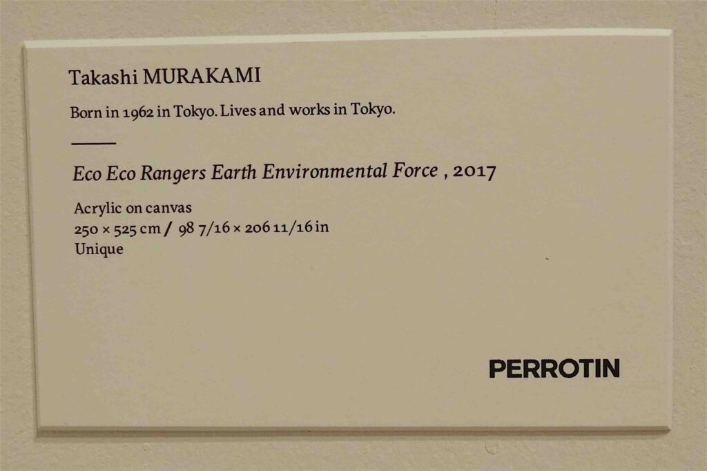 Perrotin booth Art Basel 2018 (Lives and works in Tokyo)