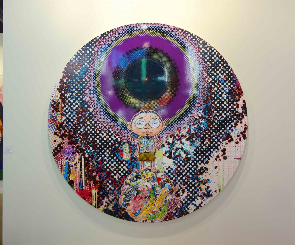 """Takashi Murakami """"Dark Matter & Me"""" 2014 @ Art Basel 2014"""