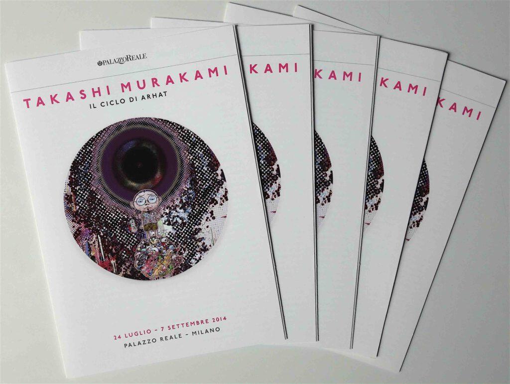 Takashi Murakami IL CICLO DI ARHAT @ Palazzo Reale Milano 2014