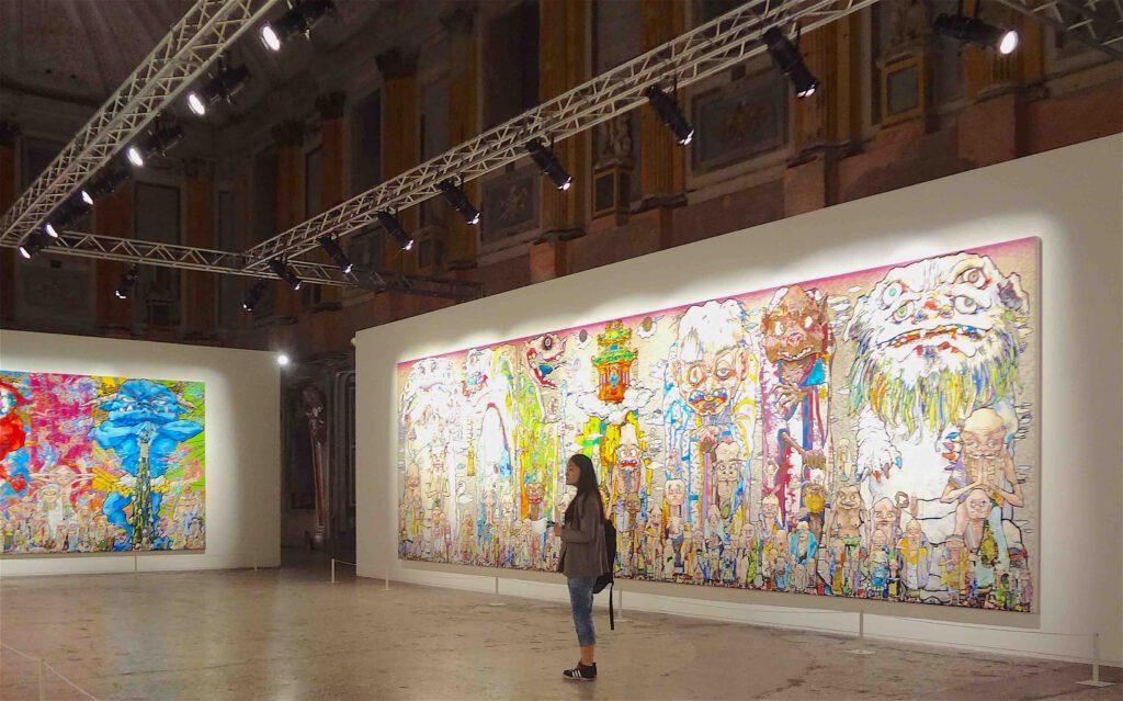 Takashi Murakami IL CICLO DI ARHAT @ Palazzo Reale Milano July 2014