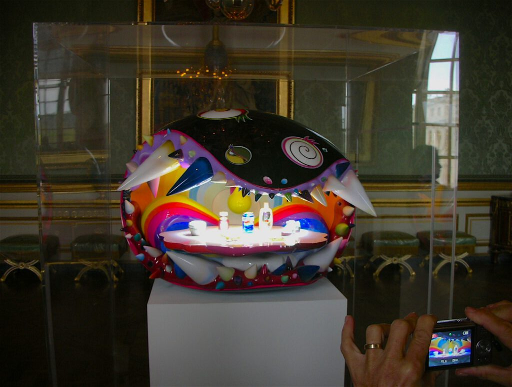 "Takashi Murakami + Pharrell Williams ""The Simple Things"" 2008-2009 @ Chateau de Versailles ヴェルサイユ宮殿 2010"