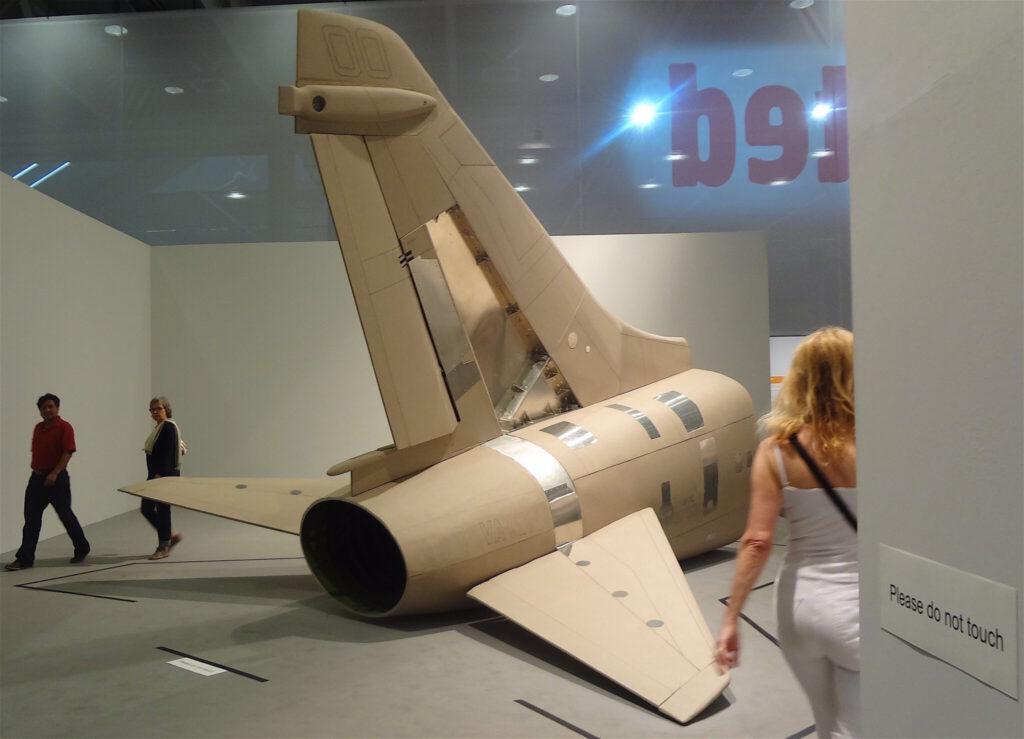 """原口典之 HARAGUCHI Noriyuki """"A-7E Corsair II"""" 2011 アートバーゼルUnlimited 2013年"""