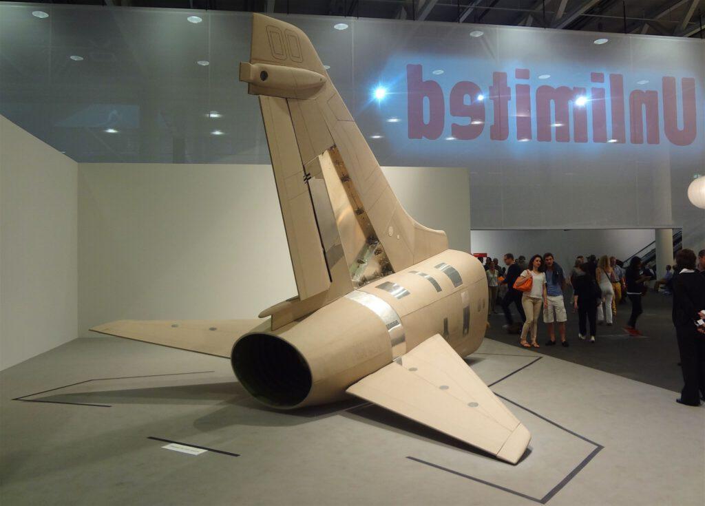 """原口典之 HARAGUCHI Noriyuki """"A-7E Corsair II"""" 2011 ART BASEL Unlimited 2013年"""