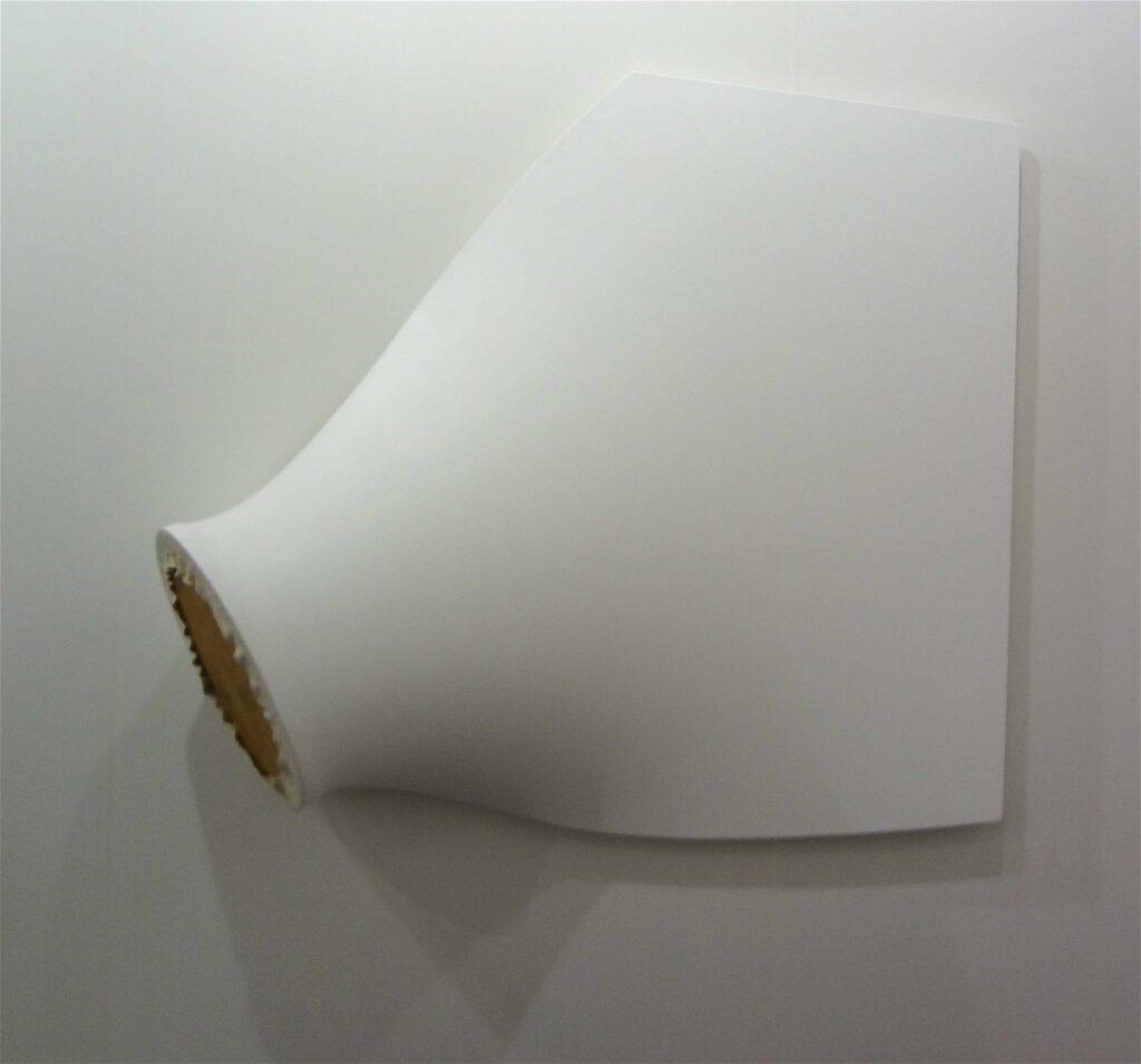 """原口典之 HARAGUCHI Noriyuki """"Air Pipe D (White Series)"""" 1969-2014 @ Fergus McCaffrey, Art Basel 2014"""
