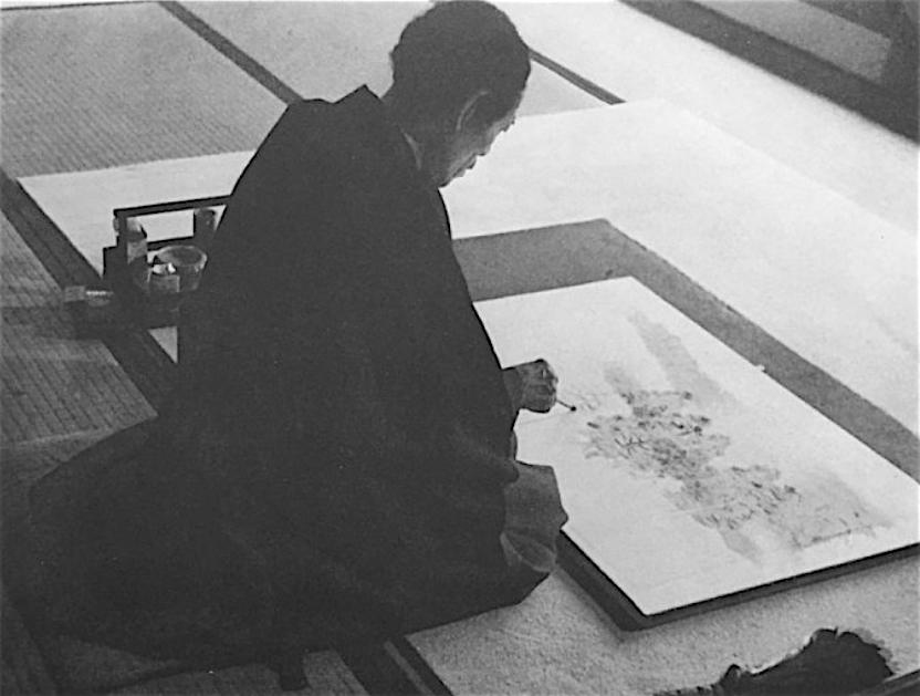 横山大観 アトリエ 昭和13年(1938年)