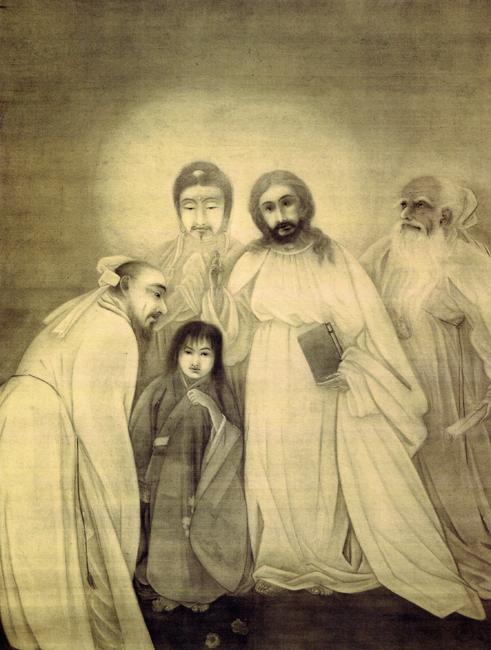 横山大観 YOKOYAMA Taikan 迷児 Foundling 1902年(明治35)
