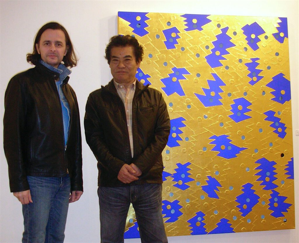 関根伸夫 SEKINE Nobuo と 亜 真里男 Mario A 2008年