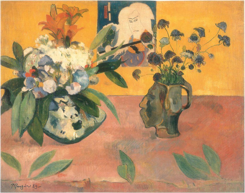 Paul-Gauguin-Still-Life-with-Japanese-Woodcut-1889-oil-on-canvas-1024×807