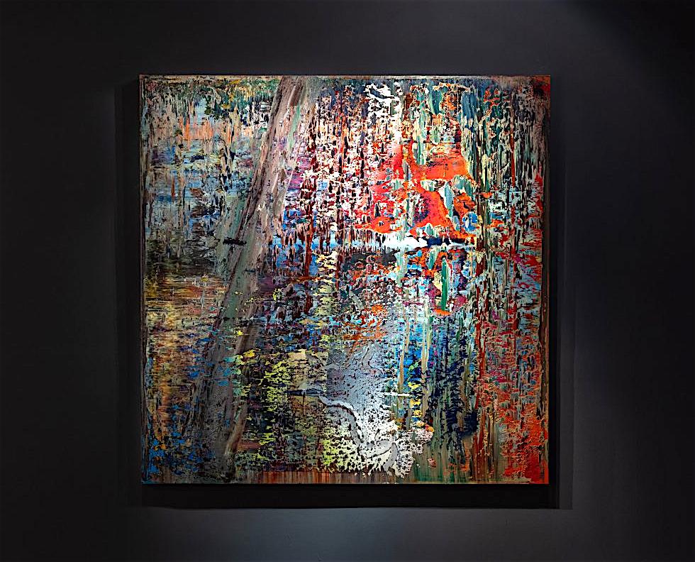 ゲルハルト・リヒター Gerhard Richter, Abstraktes Bild (649-2), 1987 for the Pola Museum 箱根のポーラ美術館 2020