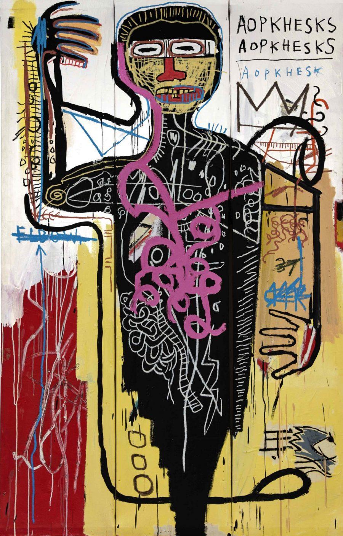 ジャン=ミシェル・バスキア Jean-Michel Basquiat Versus Medici 1982 $35 million–$50 million @ Sotheby's