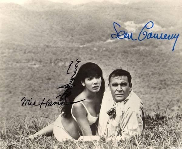 浜美枝 HAMA Mie and Sean Connery ショーン・コネリー 007は二度死ぬ