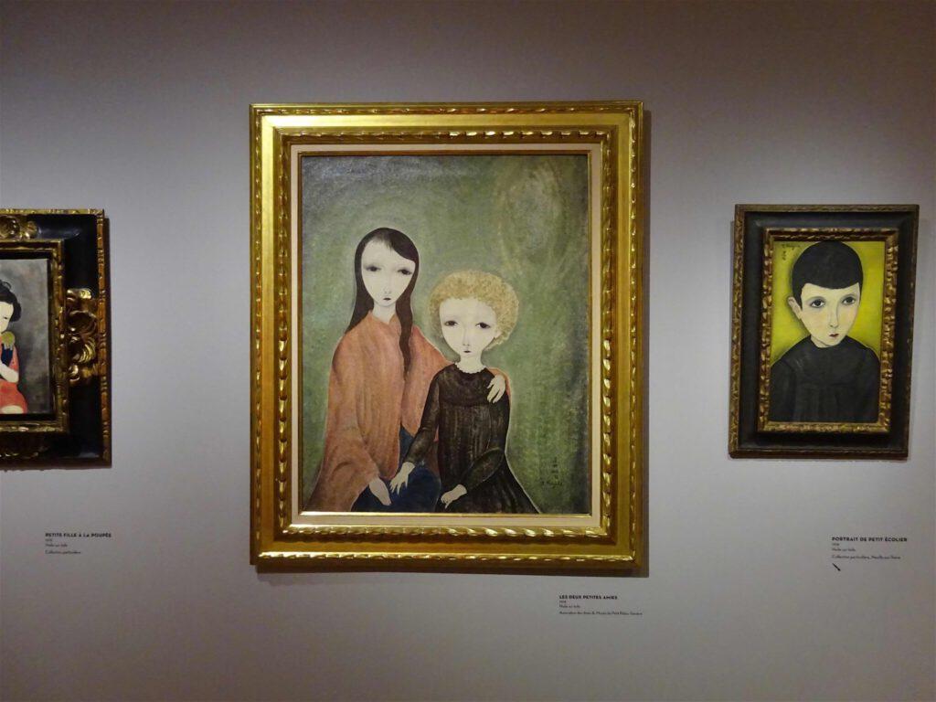 """藤田嗣治・Léonard Foujita・レオナール・フジタ """"Les Deux Petites Amies"""" 1918, Association des Amis du Museée di Petit Palais, Genève"""