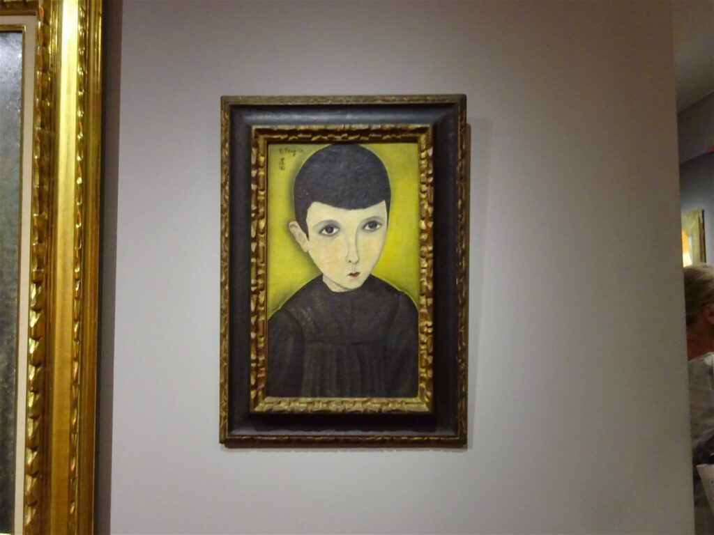 """藤田嗣治・Léonard Foujita・レオナール・フジタ """"Portrait de Petit Ecolier"""" 1918, Collection particulière, Neuilly-sur-Seine"""