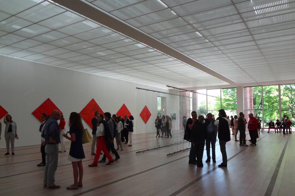 Gerhard Richter ゲルハルト・リヒター 個展 展示風景 @ Beyeler Fondation Riehen 2014