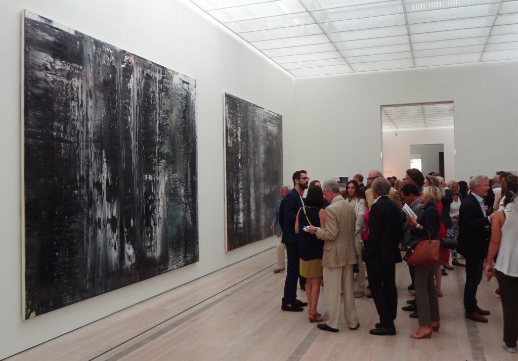 Gerhard Richter ゲルハルト・リヒター 個展 solo show 展示風景 @ Beyeler Fondation Riehen 2014