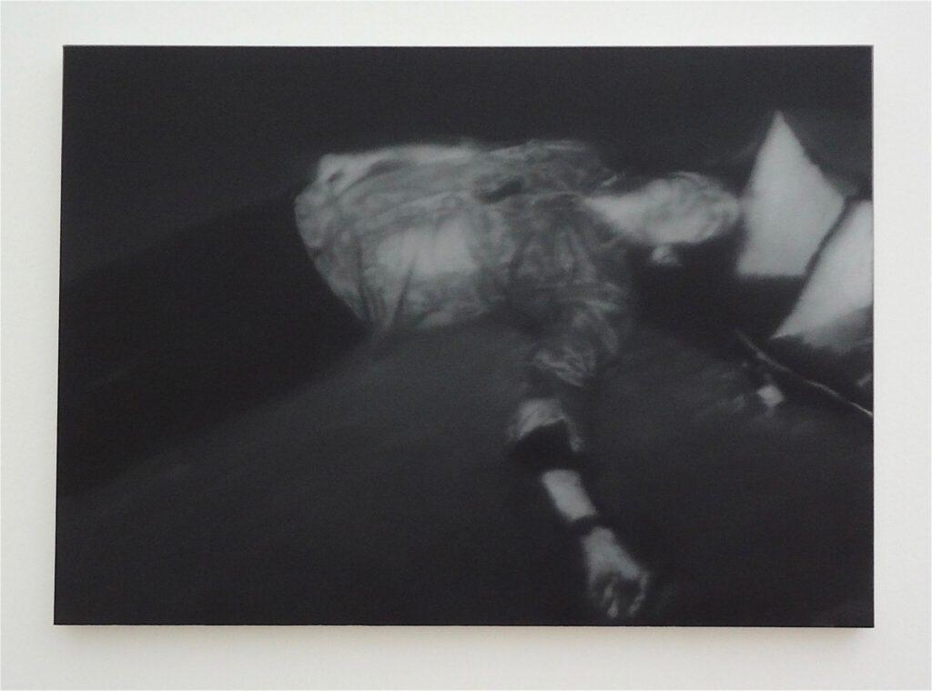 "Gerhard Richter ゲルハルト・リヒター ""18. Oktober 1977"" (Erschossener 1) 1988 (Andreas Baader)"