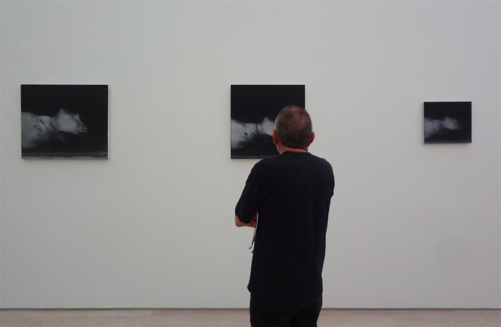 "Gerhard Richter ゲルハルト・リヒター ""18. Oktober 1977"" (Tote) 1988 (Ulrike Meinhof)"