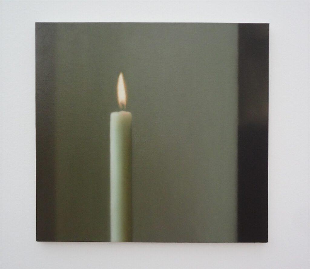 Gerhard Richter ゲルハルト・リヒター Kerze 1982 @ Gerhard Richter solo show Beyeler Fondation Riehen 2014